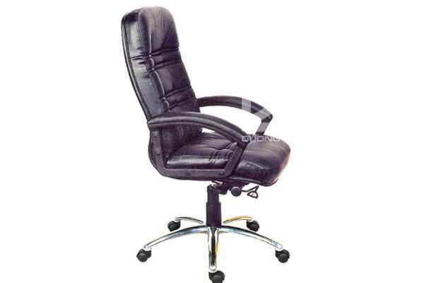 Ghế văn phòng G902H đệm tựa liều bọc da cao cấp