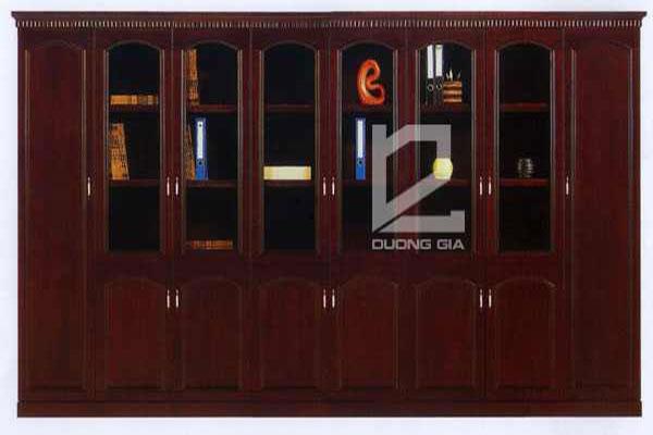 Tủ Giám đốc S935 gỗ veneer cao cấp, sang trọng