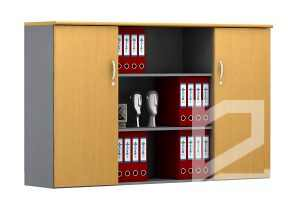 Tủ tài liệu văn phòng SM-8130H cao cấp, sang trọng
