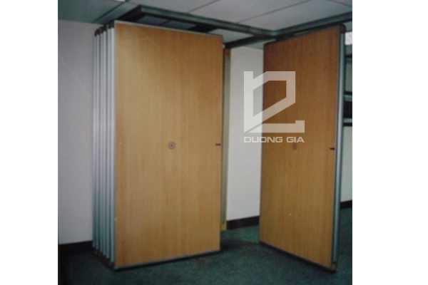 Vách ngăn di động VDD-DG1 bằng gỗ, giá rẻ