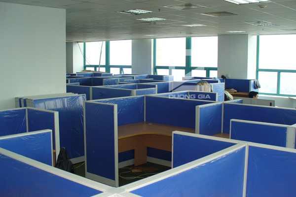 Vách ngăn văn phòng VVP-DG1 hiện đại, giá rẻ