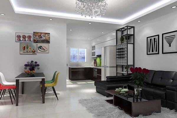 Thiết kế nội thất gia đình GĐ-DG01