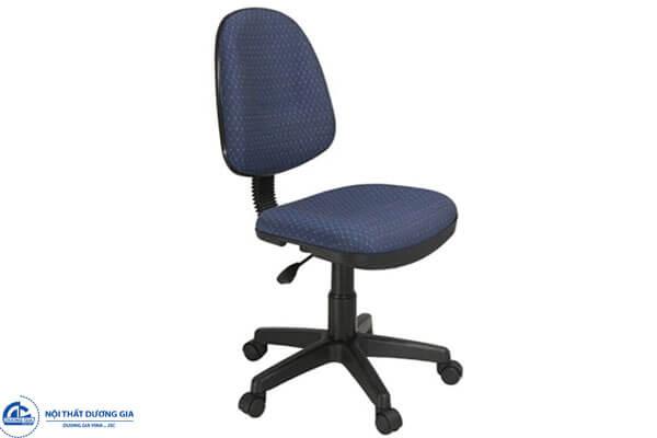 Ghế văn phòng GX02 đệm tựa nỉ, không tay vịn
