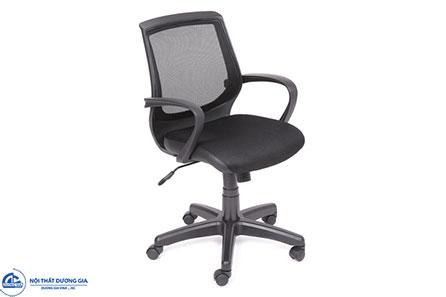 Ghế văn phòng GX09.1-N tựa lưới, chân nhựa hiện đại