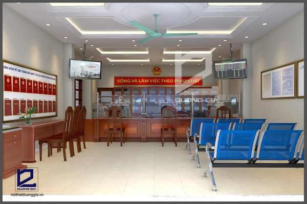 Mẫu thiết kế nội thất văn phòngVP-DG01 (góc chụp 1)
