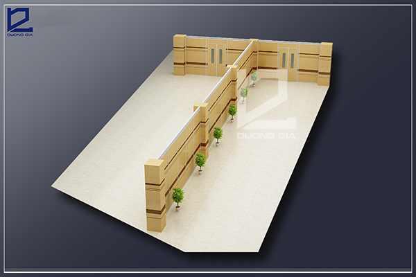 Mẫu thiết kế nội thất văn phòngVP-DG03 (góc chụp 2)