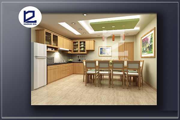 Thiết kế nội thất phòng ăn PA-DG1 - Góc nhìn 1
