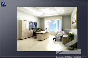 Thiết kế nội thất phòng Giám đốc công tyCKC GD-DG03