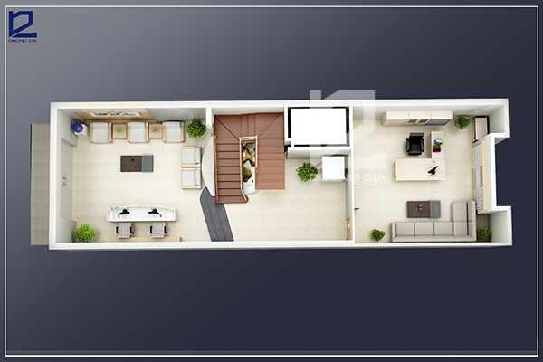 Thiết kế nội thất phòng Giám đốc công tyCKC GD-DG03 (góc chụp 1)