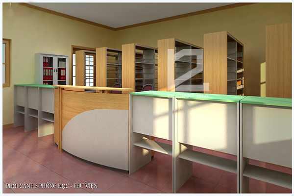 Dự Án Thiết Kế Thư Viện Trường Đại Học Thành Đô