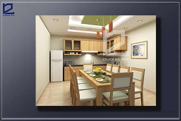 Thiết kế nội thất phòng ăn PA-DG1 - Góc nhìn 2
