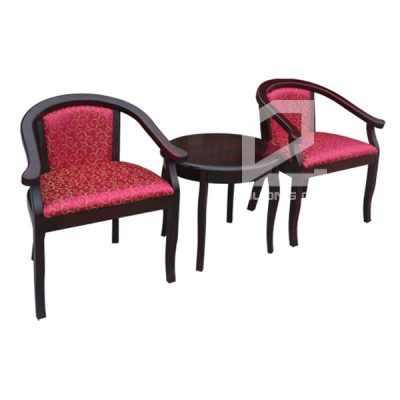 Bộ bàn ghế khách sạn BKS04 + GKS04 đẹp, sang trọng