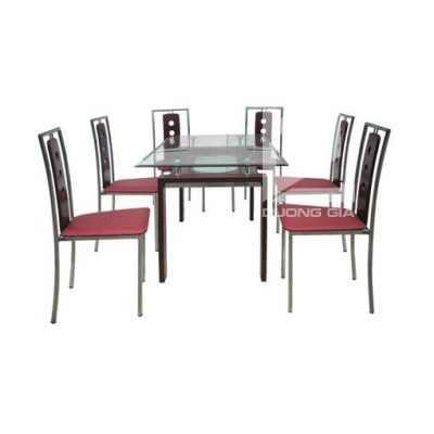 Bộ bàn ghế phòng ăn B51 + G51 hiện đại, lịch sự