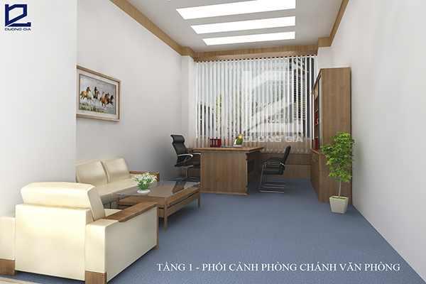 Mẫu thiết kế nội thất phòng lãnh đạo