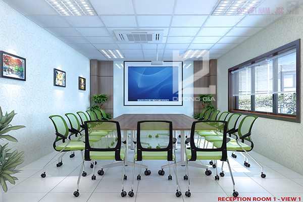 Phòng họp Canon Thăng Long đẹp, sang trọng
