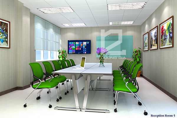 Nội thất phòng họp Công ty Canon Bắc Ninh mẫu thiết kế 1
