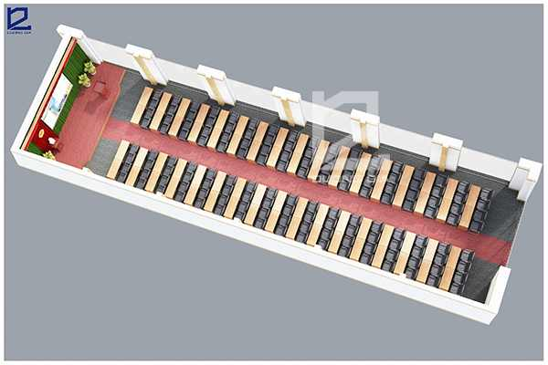 Mẫu thiết kế hội trường HT-DG11