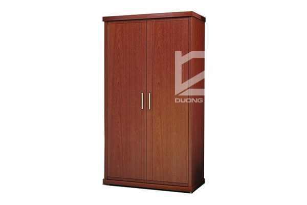 Tủ quần áo TA2B bằng gỗ, lịch sự, sang trọng