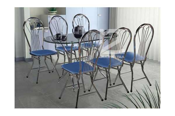Bộ bàn ghế phòng ăn B47 + G18 đẹp, lịch sự