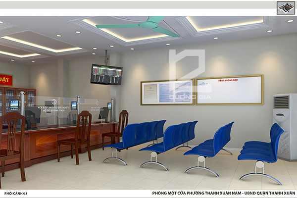 Dự án thiết kế phòng một cửa phường Thanh Xuân Nam