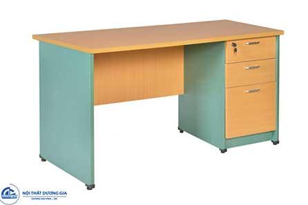 Bàn văn phòng SV140HL3D thiết kế đơn giản, tiện lợi