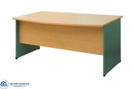 Bàn văn phòng SV1686 giá rẻ, thiết kế đơn giản.