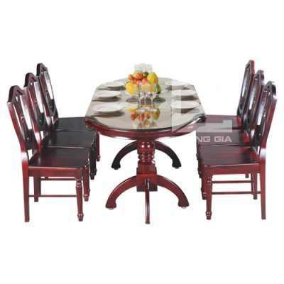 Bộ bàn ghế phòng ănTB10 + TGA08 cao cấp, lịch sự