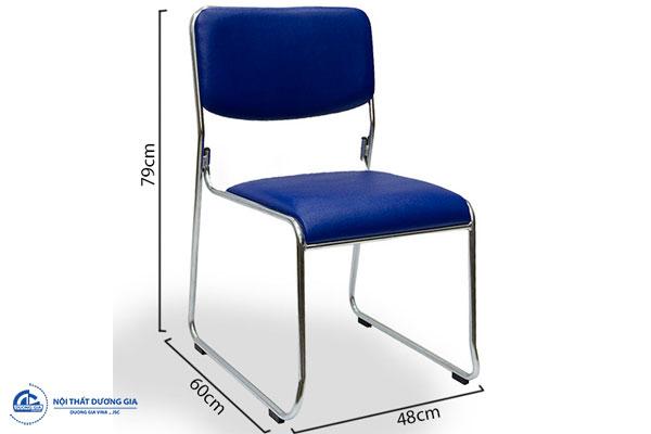 Ghế hội trường G893 khung thép hiện đại