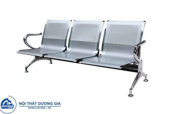 Ghế phòng chờ tôn đột lỗ GPC02-3