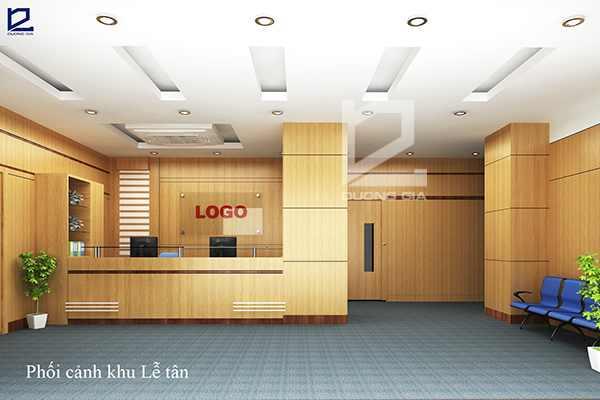 Thiết kế nội thất phòng lễ tân