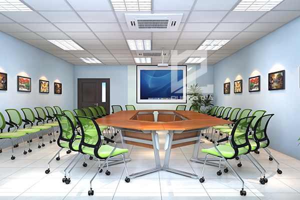 Nội thất phòng họp Công ty Canon Bắc Ninh mẫu thiết kế 2