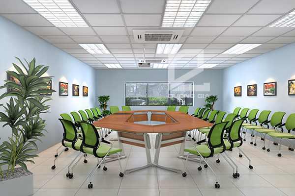 Nội thất phòng họp Công ty Canon Bắc Ninh