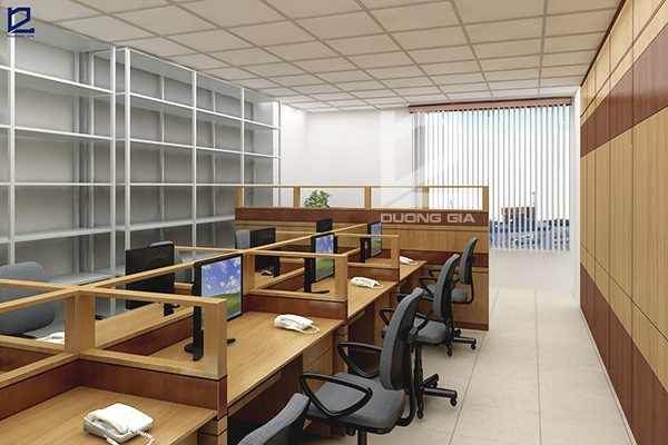 Thiết kế nội thất phòng nhân viên