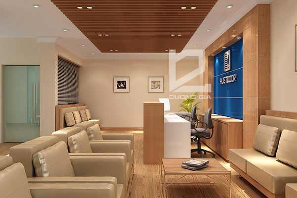 Mẫu thiết kế nội thất văn phòng đẹp, sang trọng