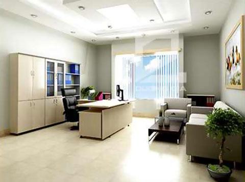Thiết kế nội thất phòng Giám đốc công ty CKC GD-DG03