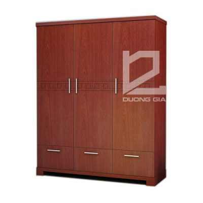 Tủ quần áo TA3B3N 3 buồng, 3 ngăn tiện nghi