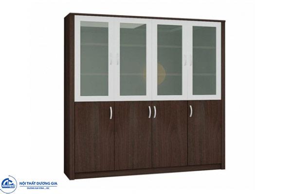 Tủ Giám đốc TGD1840T kết hợp gỗ kính sang trọng