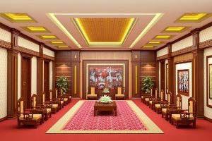 Thiết kế nội thất phòng khánh tiết KT-DG10 sang trọng, đẳng cấp