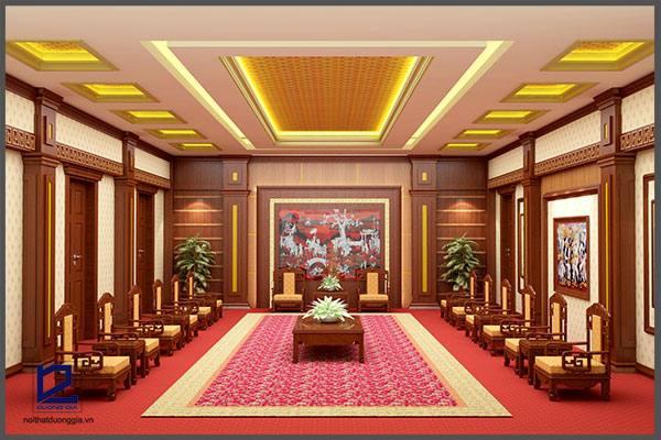Thiết kế nội thất phòng khánh tiết KT-DG10 (góc chụp 1)