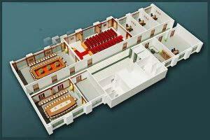 Mẫu thiết kế nội thất văn phòng VP-DG23