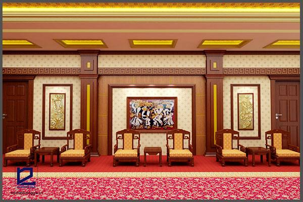 Thiết kế nội thất phòng khánh tiết KT-DG10 (góc chụp 2)