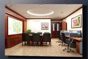 Mẫu thiết kế nội thất văn phòngVP-DG08