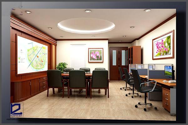 Mẫu thiết kế nội thất văn phòngVP-DG08 (góc chụp 1)