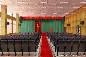 Thiết kế hội trường công ty Tiến Hà HT-DG13