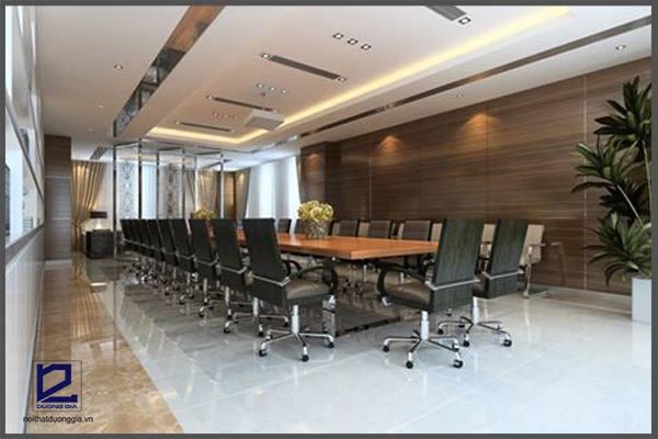 Thiết kế phòng họp nhỏ Quận ủy Thanh Xuân PH-DG23 góc 1