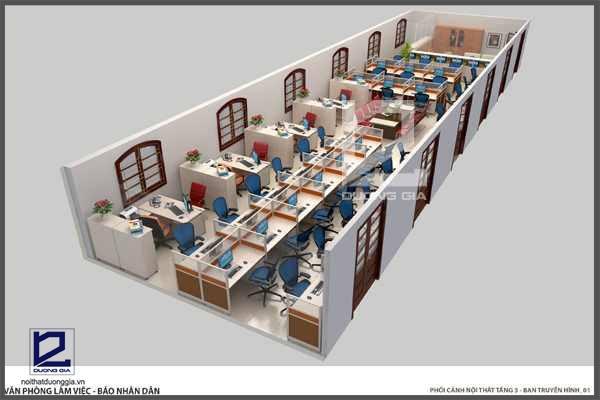 Công ty tư vấn thiết kế nội thất văn phòng tại Hà Nội UY TÍN NHẤT