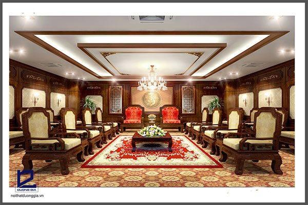 Thiết kế nội thất phòng khánh tiết KT-DG03