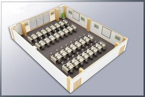 Mẫu thiết kế nội thất văn phòng VP-DG05