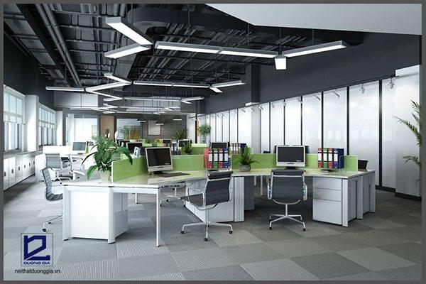 Thiết kế văn phòng công ty EcobaVP-DG22 - góc chụp 1