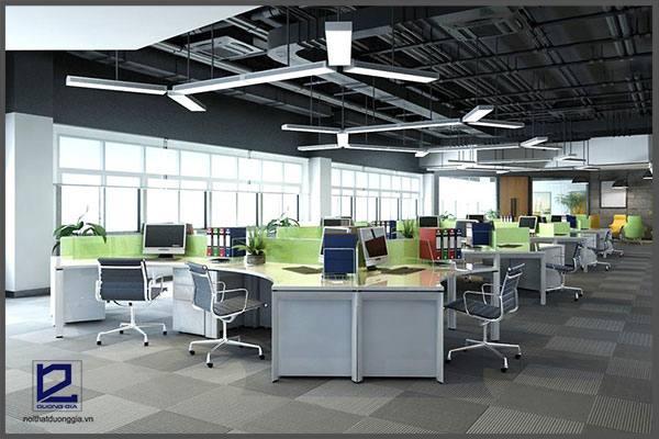 Thiết kế văn phòng công ty EcobaVP-DG22 - góc chụp 2